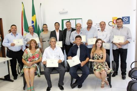 Eleitos no pleito de 2012 em Andirá são diplomados pela Justiça Eleitoral